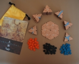 Cartography Board Game Wood Edition All Components