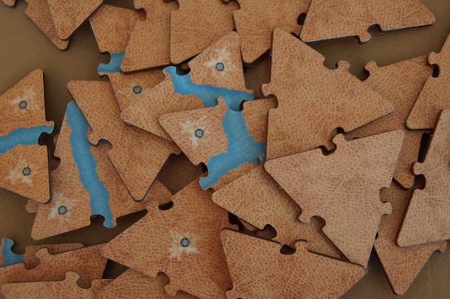 Cartography Wood Edition Tiles