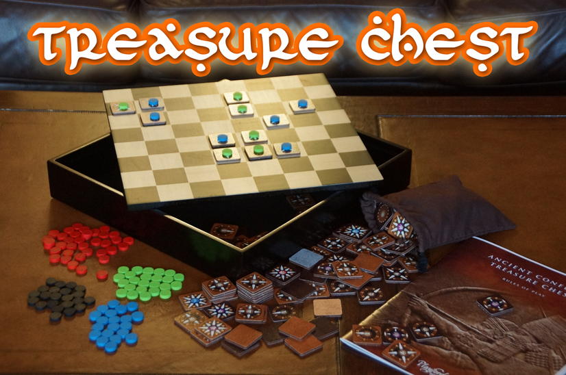 Ancient Conflict Treasure Chest Collection of Abstract Strategy Games