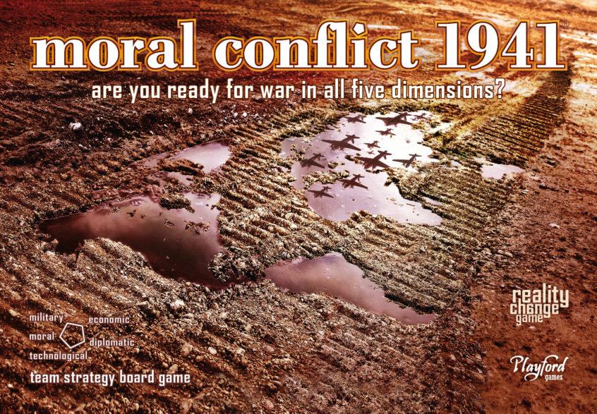 Moral Conflict 1941 Box Art