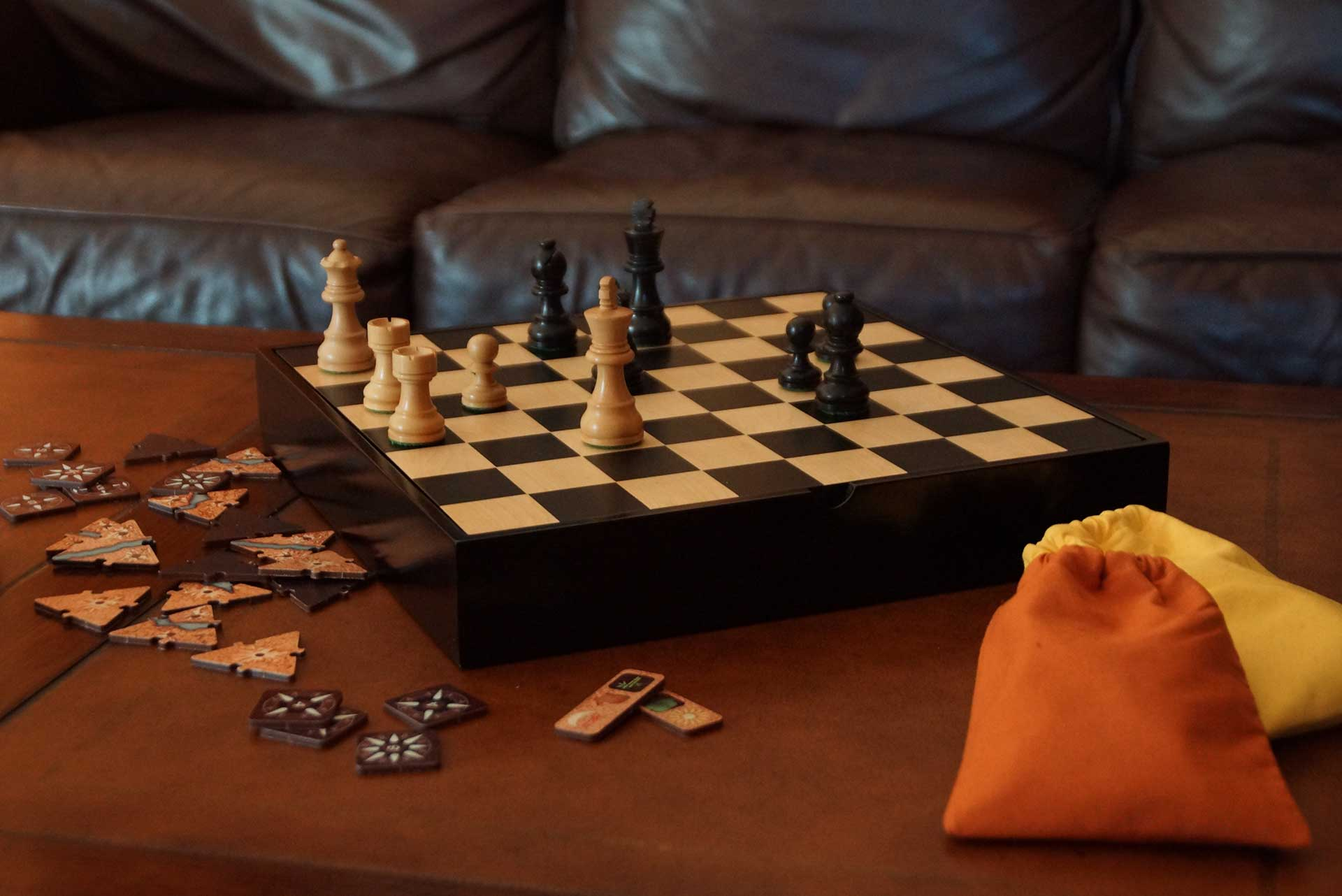 Treasure Chest Abstract Strategy Games