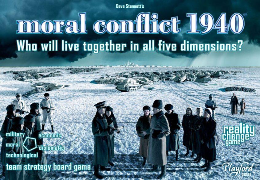 Moral Conflict 1940 Box Art