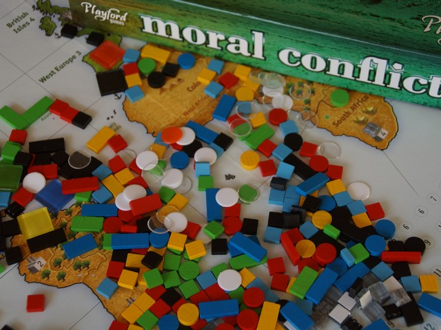 Moral Conflict Components